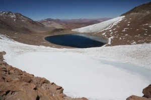 Nevado tres Cruces Norte Lake